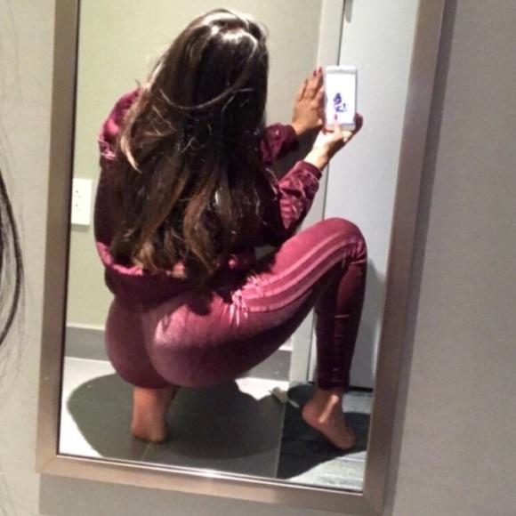 a95f92a007f adidas Pants | Velvet Tracksuit | Poshmark